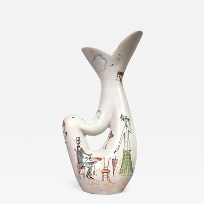 Rometti Umbertide Vase by Rometti Umbertide Italy 1955