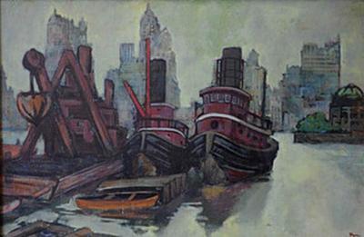 Ron Blumberg Tug Boats