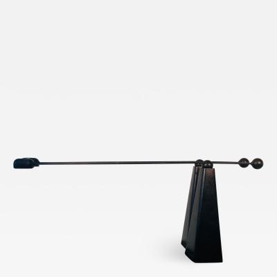 Ron Rezek Pair of Adjustable Articulated Desk Lamps by Ron Rezek