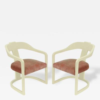 Ron Seff Pair of Arm Chairs by Ron Seff