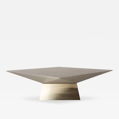 Ron Seff Ron Seff Braque Shagreen Low Table USA c 1980