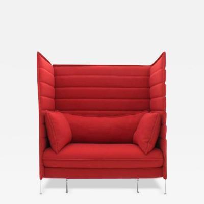 Ronan Erwan Bouroullec Ronan and Erwan Bouroullec Alcove High Back Loveseat Lounge Chair Vitra 2006