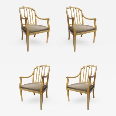 Rose Tarlow Astonishing Set of Four Rose Tarlow Chairs