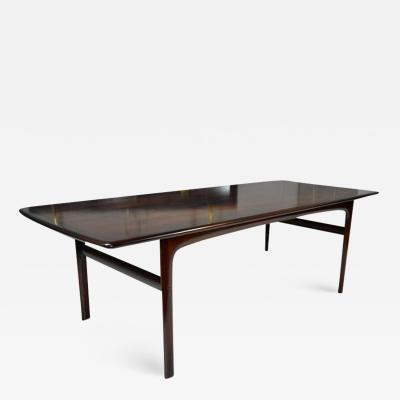 Rosewood Coffee or Cocktail Table by Sven Ivar for Mobler