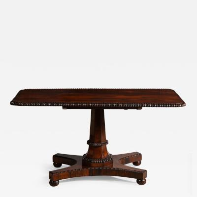 Rosewood Regency Sofa Console Table