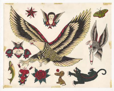 Rosie Camanga Untitled Big Eagle