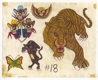 Rosie Camanga Untitled Big Tiger
