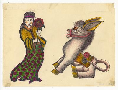 Rosie Camanga Untitled Donkey