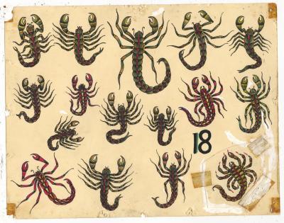 Rosie Camanga Untitled Scorpions