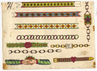Rosie Camanga Untitled Wrist Bands