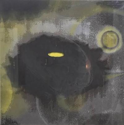 Ross Bleckner American Abstract Silkscreen on Paper Ross Bleckner
