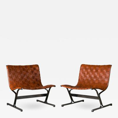 Ross F Littell Pair of Ross Franklin Littell Chairs