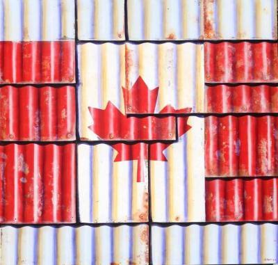 Ross Tamlin Canadian Flag