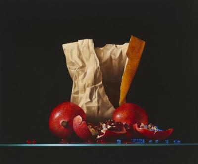 Rosso Finito Contemporary Still Life Giclee by Dario Campanile