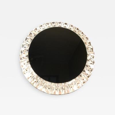 Round Backlit Mirror