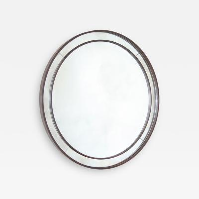 Round Fer Forge Mirror