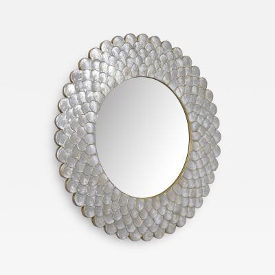 Round Sunburst Mirror