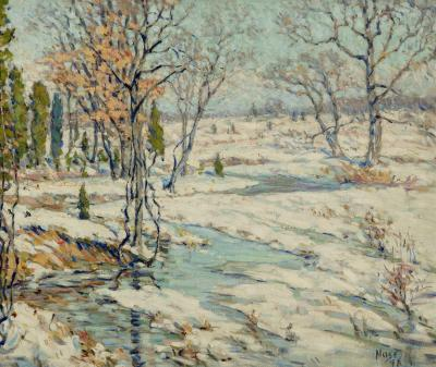 Roy Cleveland Nuse A Winter Morning
