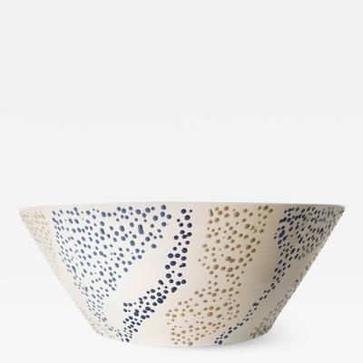 Roy Hamilton Faux Marble Ceramic Bowl