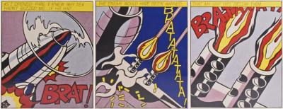 Roy Lichtenstein Roy Lichtenstein American 1923 1997 As I Opened Fire 1966