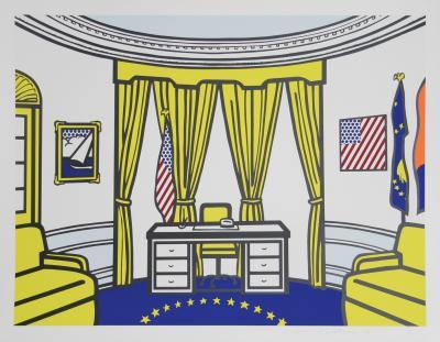 Roy Lichtenstein The Oval Office