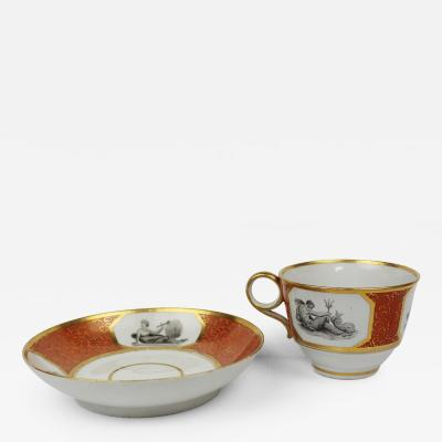 Royal Worcester Barr Flight and Barr Teacup and Saucer