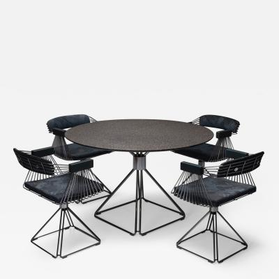 Rudi Verelst Mid Century Modern Novalux dining set by Rudi Verelst 1970s