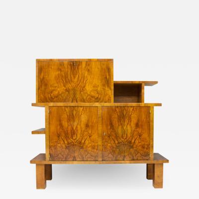 Rudolf Lorenz Rare Art Deco Cabinet by Rudolf Lorenz Vienna Austria 1930s