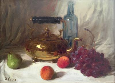 Rudolph Colao Still Life with Kettle
