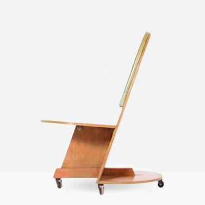 Rudolph Schindler Rudolph Schindler 1883 1953 Rare Side Chair 1945