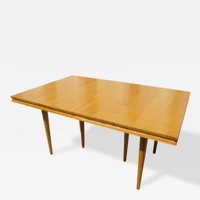Russel Wright Maple Extension Table by Russel Wright for Conant Ball