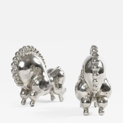 Russel Wright RUSSEL WRIGHT LIBBILOO CIRCUS HORSE BOOKENDS
