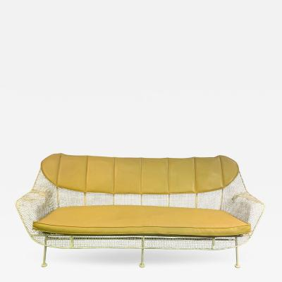 Russell Woodard RARE RUSSELL WOODARD MID CENTURY METAL COUCH