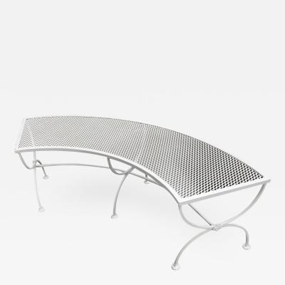 Russell Woodard Russell Woodard Quarter Round Mesh Patio Outdoor Bench