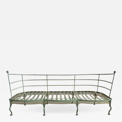 Russell Woodard Woodard Furniture Midcentury Garden Sofa by Woodard
