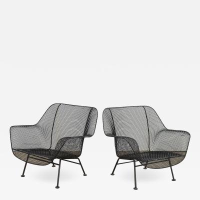 Russell Woodard Woodard Furniture Woodard Sculptura Lounge Chairs