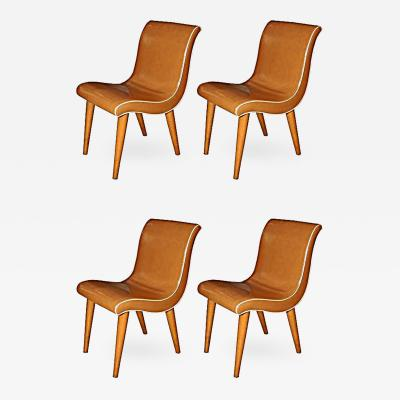 Russell Wright Set of Four Russell Wright Dining Chairs