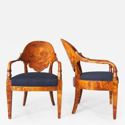 Russian Neo Classical Armchairs