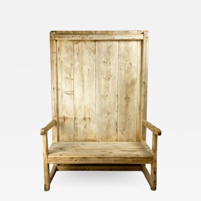 Rustic Bench circa 1830 Spain