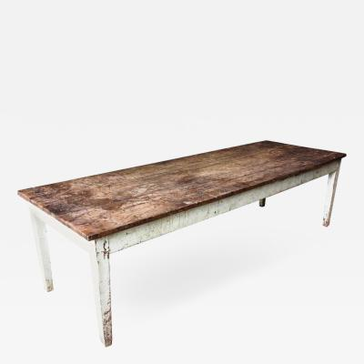 Rustic French Farm Table 19th Century