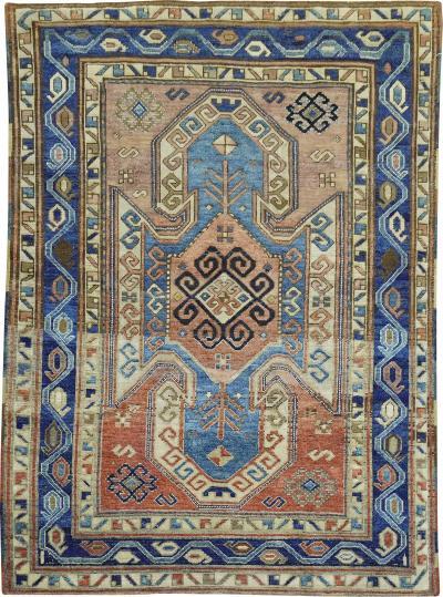 Rustic Kazak Rug rug no j1870