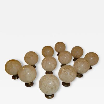 Ruth Richmond 1960s Lucite Cabinet Drawer Pulls Designed for SW Florida Mid Century Homes