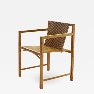 Ruud Jan Kokke Ruud Jan Kokke slat chair The Netherlands 1986