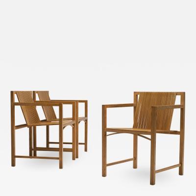 Ruud Jan Kokke Set of Ruud Jan Kokke Slat Chairs the Netherlands 1986
