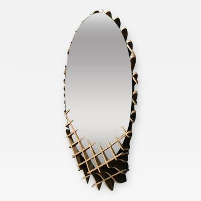 Ryan Dart The Quarry Collection Free Standing Mirror by Studio Artist Ryan Dart