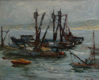 S C Yuan Fishing Boats in Monterey Bay