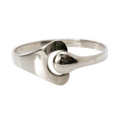 S ren Georg Jensen Scandinavian Modern Silver Bracelet by Georg Jensen Denmark