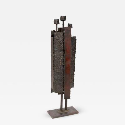 SC 49 Brutalist Steel Sculpture
