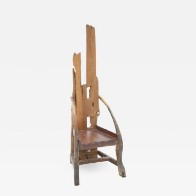 SCULPTURE IN A CHAIR SHAPE FRANCE 1940