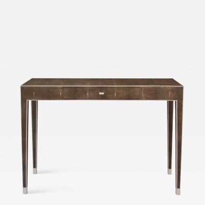 SHAGREEN CONSOLE WITH DRAWER